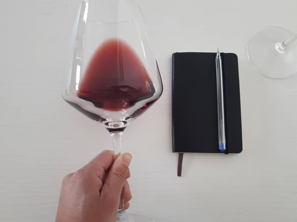 Wine tasting analisi visiva