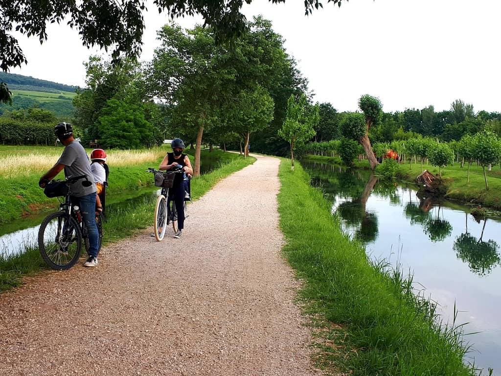 Bici tour della Valpolicella_sentiero