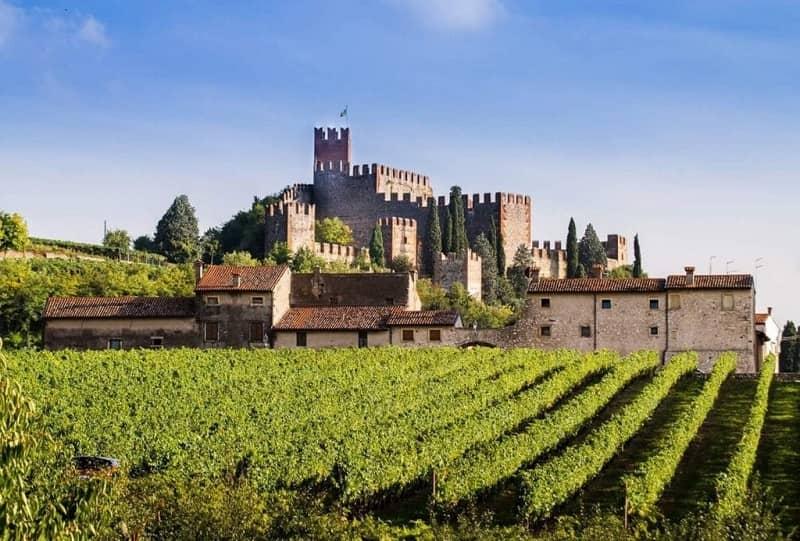 soave wine tour_castle